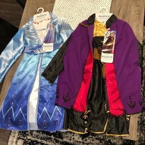 Elsa and Anna Outfits